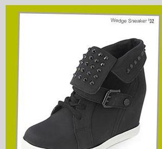 Wedge Sneaker - $32 - Fall's HOTTEST Shoes! Starting at $14.80! SHOP NOW!