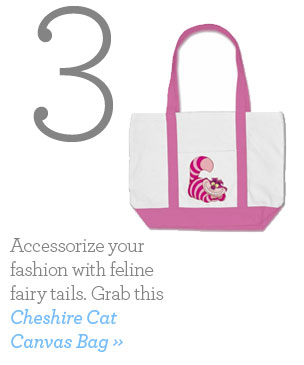 Cheshire Cat Canvas Bag