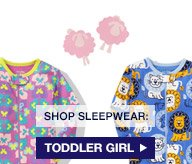 SHOP SLEEPWEAR: TODDLER GIRL