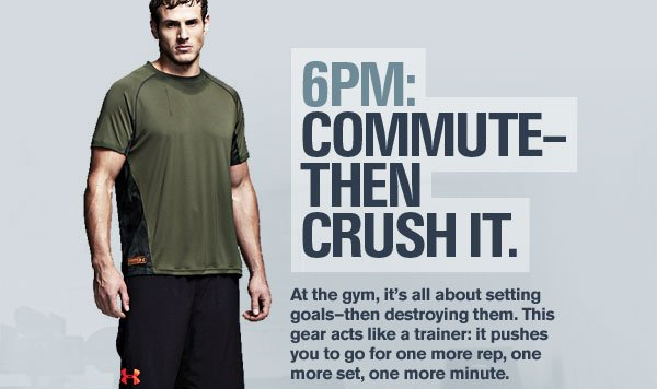 6PM: COMMUTE-THEN CRUSH IT.