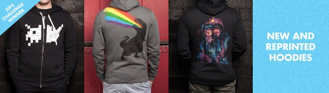 New and Reprinted Hoodies