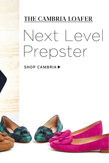 The Cambria Loafer: Next Level Prepster. Shop Cambria
