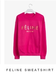 Feline Sweatshirt