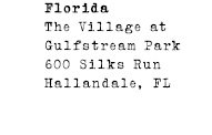Florida - The Village at Gulfstream Park