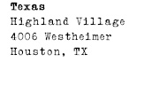Texas - Highland Village