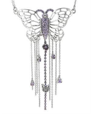 PILGRIM SKANDERBORG, DENMARK Necklace with Crystal