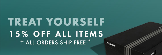 15% OFF ALL ITEMS + FREE SHIPPING