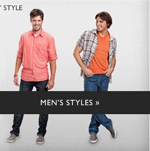 MEN'S STYLES »
