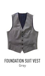 Grey Foundation Vest