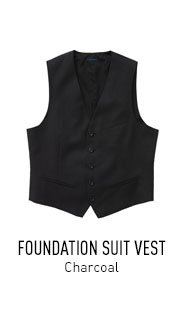 Charcoal Foundation Vest