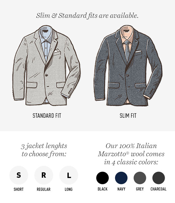 Foundation Suit Fit Guide