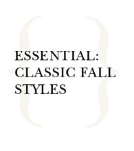 Classic Fall Styles
