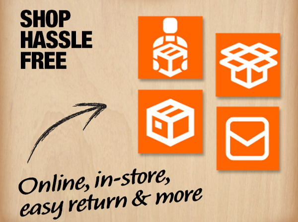Shop Hassle Free