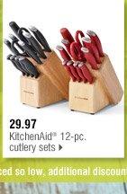 29.97 KitchenAid® 12-pc. cutlery sets