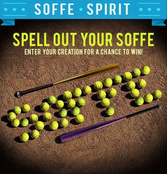 Spell out your soffe. Enter your creation.