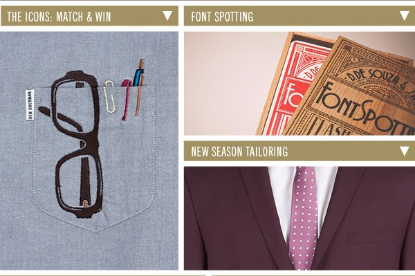 The Icons: Match & Win | Font Spotting | New Season Tailoring