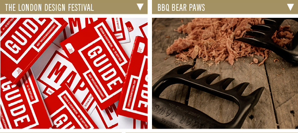 The London Design Festival | BBQ Bear Paws