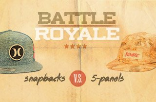 Snapbacks VS. 5-Panels