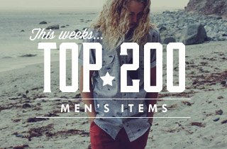 This Weeks Top 200 Men's