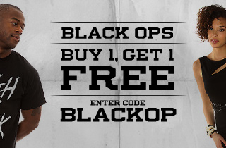 All Black. Buy 1, Get 1 Free
