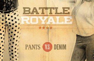 Pants VS. Denim