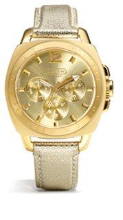 boyfriend strap watch