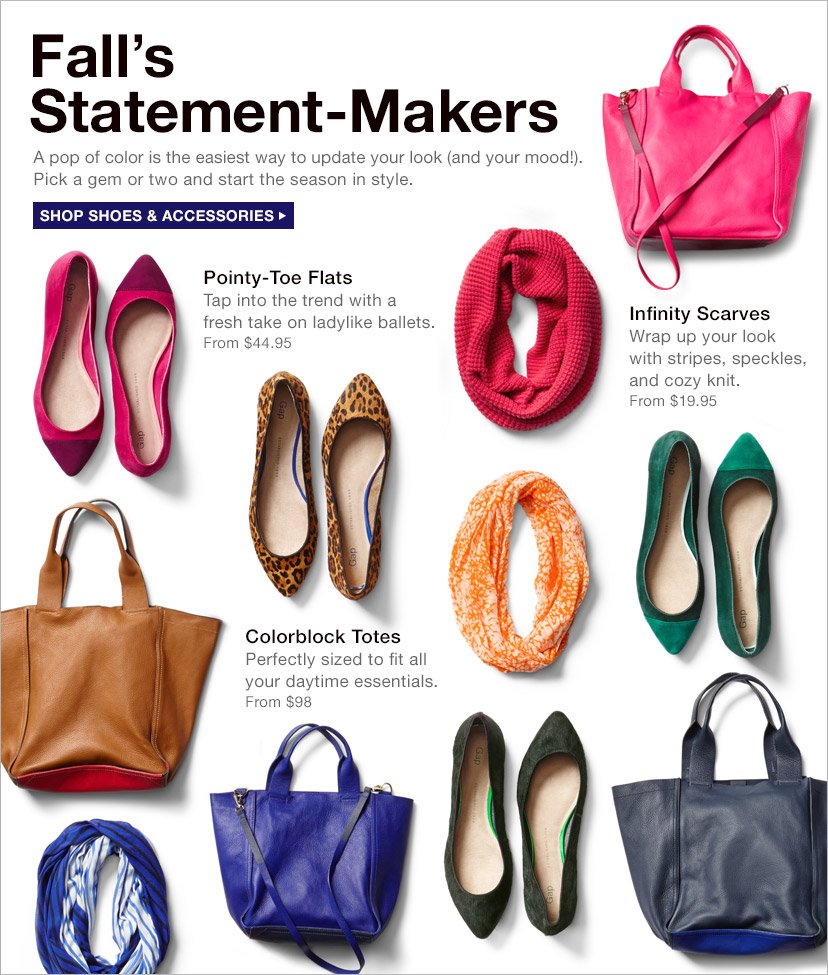 Fall's Statement-Makers | SHOP SHOES & ACCESSORIES