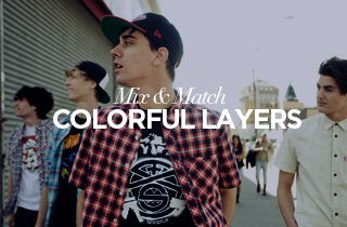 Mix & Match: Colorful Layers