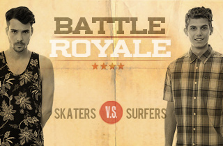 Skaters VS. Surfers