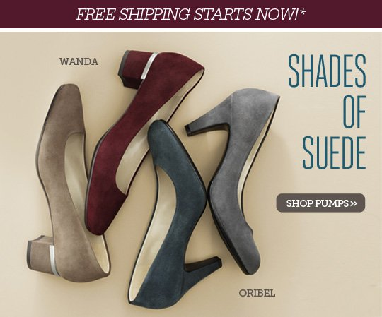 PUMPS FROM $69.99