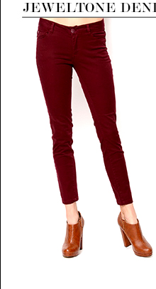 Ci Sono High-Waisted Single Tone Skinny Jeans