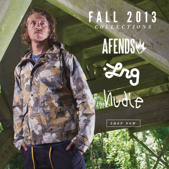 Shop New Fall Looks from LRG, Afends and more