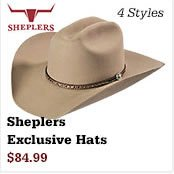 Sheplers Exclusive Hats on Sale