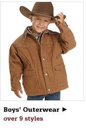 All Boys Outerwear on Sale
