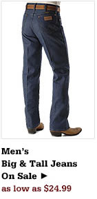 Mens Big & Tall Jeans on Sale