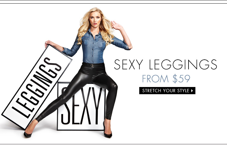 Sexy Leggings from $59