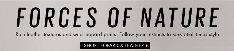 Shop Leopard and Leather
