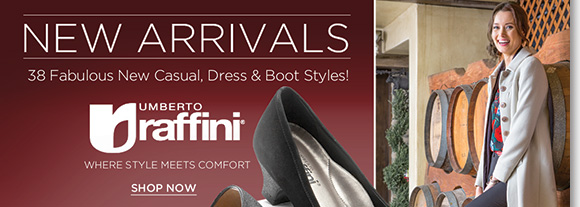 Where style meets comfort, shop the NEW Raffini fall arrivals! Featuring soft premium leathers, cushioned footbeds, and shock absorbing soles, see over 35 new casual, boot, and dress styles perfect for fall! Shop now to find the best selection online and in-stores at The Walking Company.