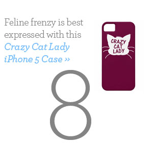 Crazy Cat Lady iPhone 5 Case