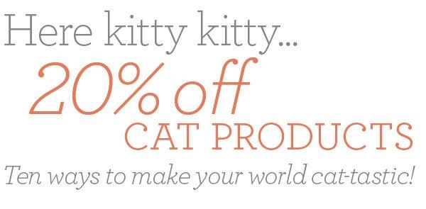 Shop cat products