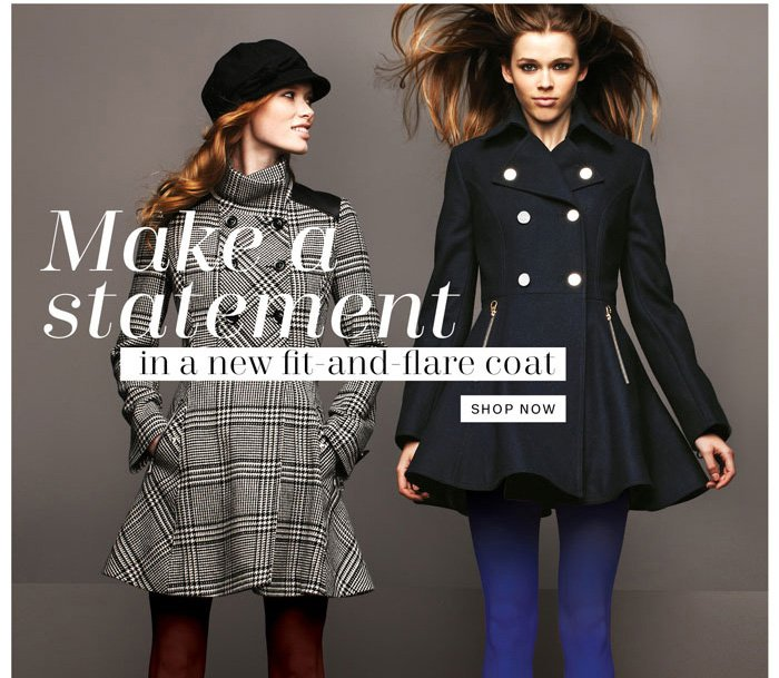 Make a Statement - Shop Now
