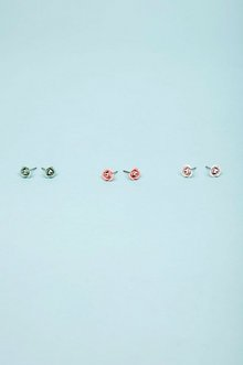 TRIPLE ROSE BUD EARRING 8