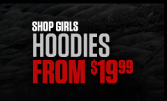 Shop Girls Hoodies From $19.99