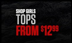 Shop Girls Tops From $12.99