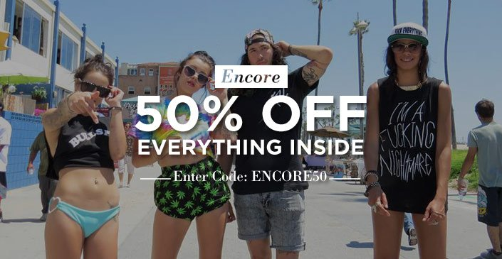 Hot damn. Click to get an extra 50% off, tonight only.