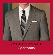 Clearance Sportcoats - Reduced 40%