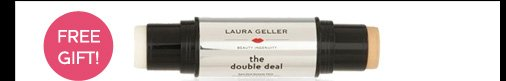 Free Gift: Double Deal Double-Ended Remedy and Foundation Stick