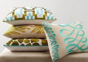 Pop of Color: Throw Pillows