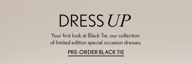 Pre-Order Black Tie