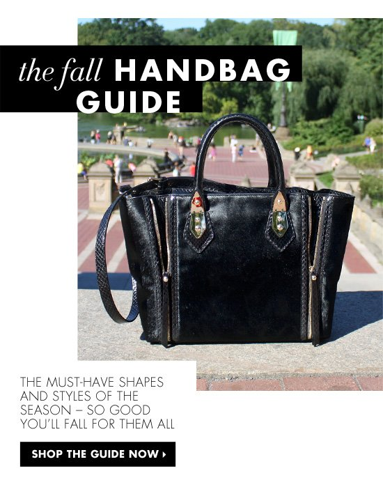 The Fall Handbag Guide